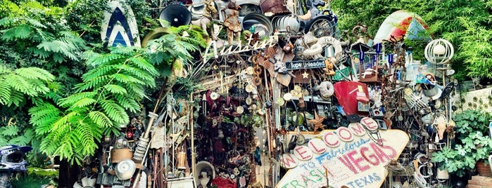 Cathedral of Junk is one of austin city limits.