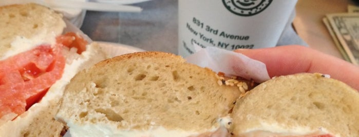 Ess-a-Bagel is one of NYC.