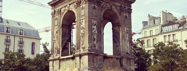 Fontaine des Innocents is one of Paris.