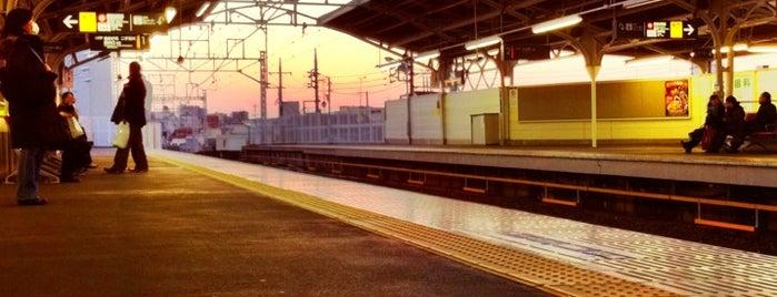 Tokyu Nakanobu Station is one of 高井'ın Beğendiği Mekanlar.