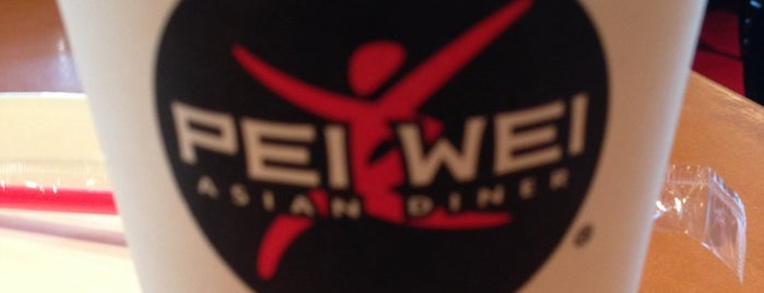 Pei Wei is one of Most visited.