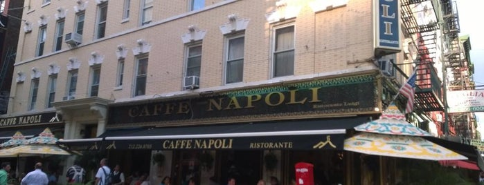 Caffé Napoli is one of Nyc.