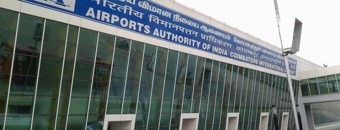 Coimbatore International Airport (CJB) is one of สถานที่ที่ Waleed ถูกใจ.