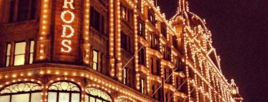 Harrods is one of London.