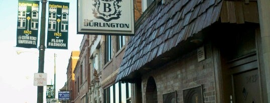 The Burlington is one of Kate'nin Beğendiği Mekanlar.