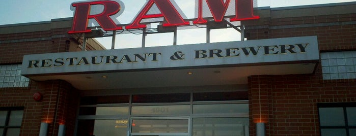 RAM Restaurant & Brewery is one of Breweries I've Visited.