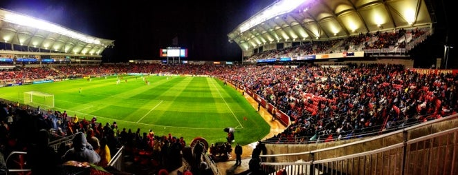 Rio Tinto Stadium is one of All-time favorites in United States (Part 2).