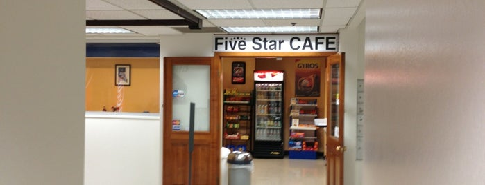 Five Star Cafe is one of Lugares guardados de Reputation Repair.