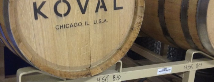 Koval Distillery is one of BrewDog Show Mentions.