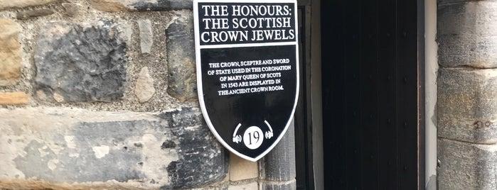 Honours of Scotland is one of Edinburgh.