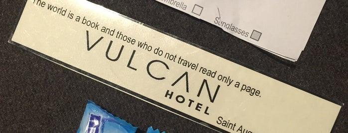 Vulcan Hotel is one of Orte, die Kat gefallen.