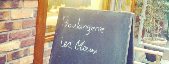 Boulangerie Les Mieux is one of 地元.