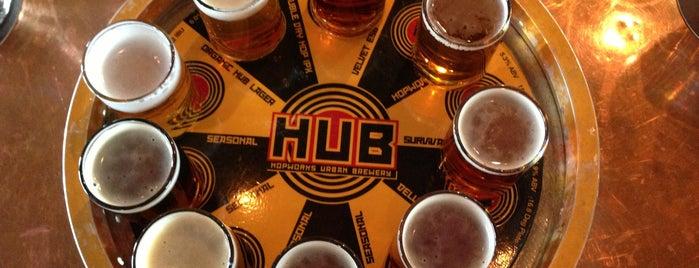 Hopworks Urban Brewery is one of Portland in 48 hours.
