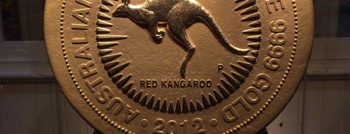 The Perth Mint is one of Orte, die Yunus gefallen.