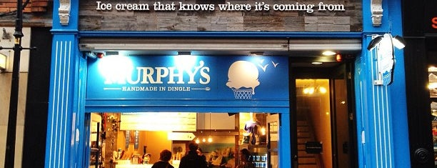 Murphy's Ice Cream is one of In Dublin's Fair City (& Beyond).