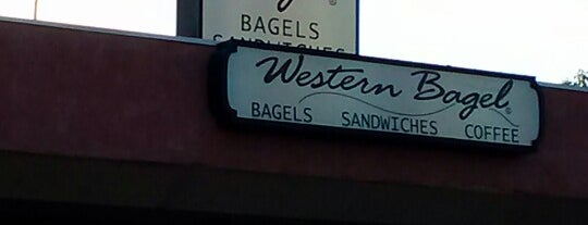 Western Bagel is one of Timさんの保存済みスポット.