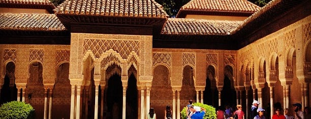 Patio de los Leones is one of Granada.