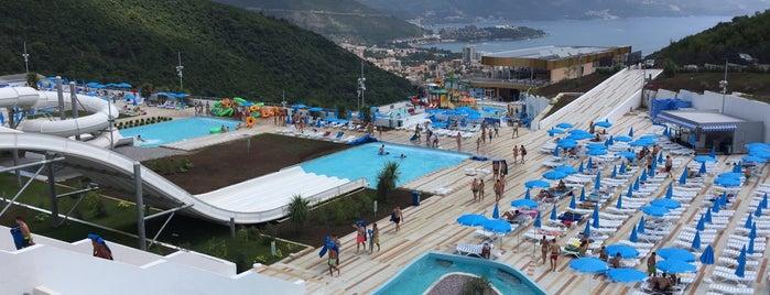 Aquapark Budva is one of Locais curtidos por *****.
