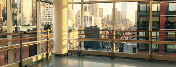 The Ailey Studios (Alvin Ailey American Dance Theater) is one of The New Yorkers: Extracurriculars.