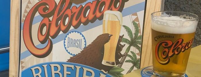 Bar Do Urso - Cervejaria Colorado is one of สถานที่ที่ Ray ถูกใจ.