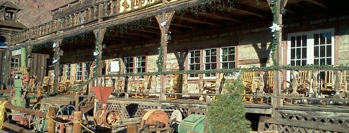 Calico Ghost Town is one of Route 66.