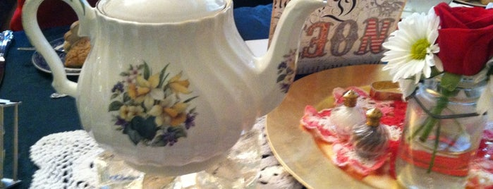 The Mad Hatter Tea Room is one of Coffee, Tea, and Smoothies.