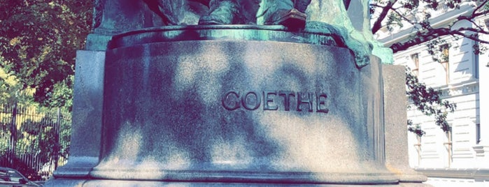 Goethe-Denkmal is one of Vienna.