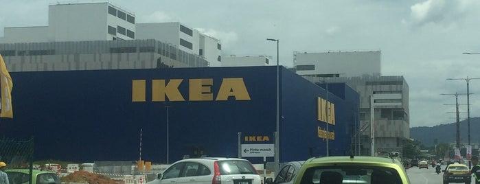 IKEA is one of Tempat yang Disukai Adrian.