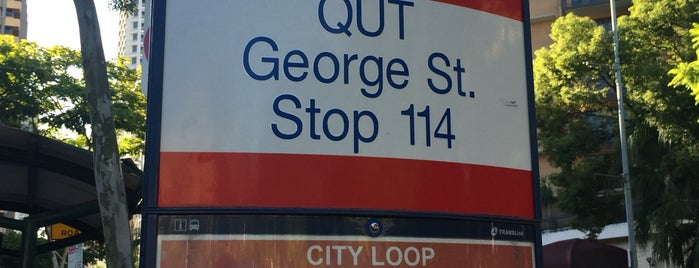 Brisbane City Free Loop Stop 114 is one of Australia.