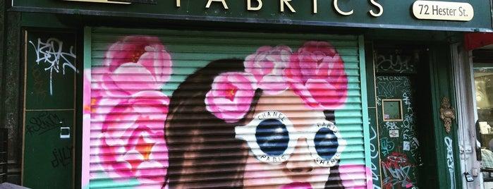 Mendel Goldberg Fabrics is one of NYC.