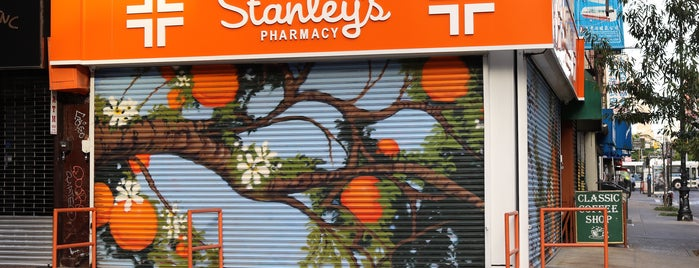 Stanley's Pharmacy is one of For New York: Everyday Necessities.