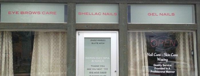 Serin Day Spa And Nails is one of Erin'in Beğendiği Mekanlar.