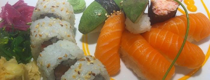 Sushi Yama is one of Lugares favoritos de Laura.