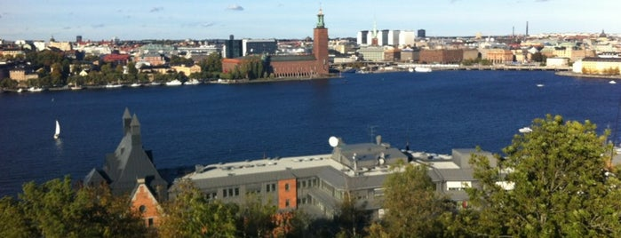 Skinnarviksberget is one of Stockholm City Guide.