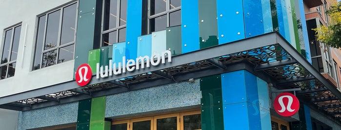 lululemon athletica is one of LA home.