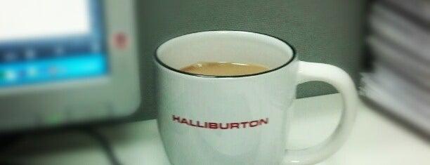Halliburton is one of Tempat yang Disukai Joaquin.