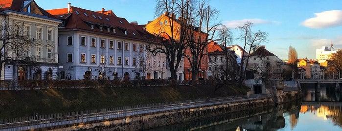 Ljubljana is one of Slovenia.