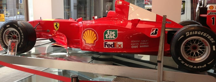 Ferrari Store is one of Best places of Greater Milan.