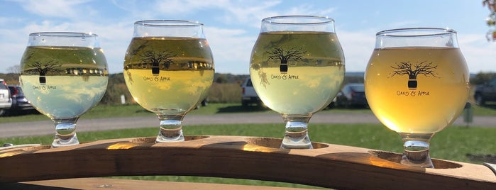 Oak & Apple Cidery is one of Upstate.