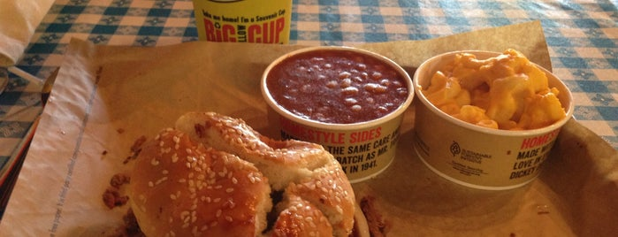 Dickey's Barbecue Pit is one of San Jose.