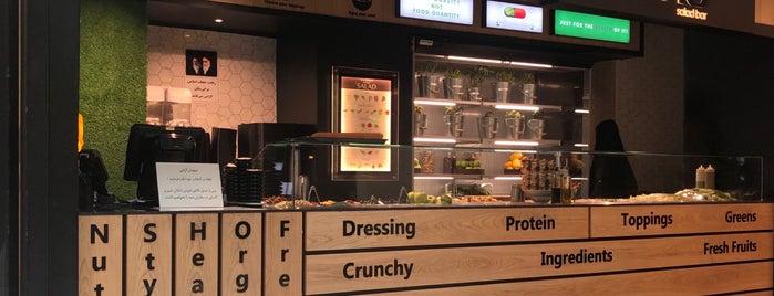 Buono Salad Bar | سالادبار بونو is one of V.Nさんのお気に入りスポット.