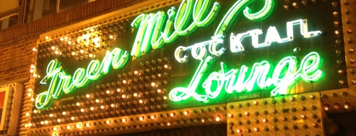 Green Mill Cocktail Lounge is one of ChiN.