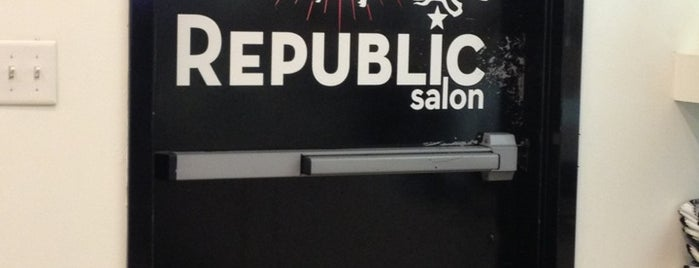 Republic Salon is one of Posti salvati di sheila.