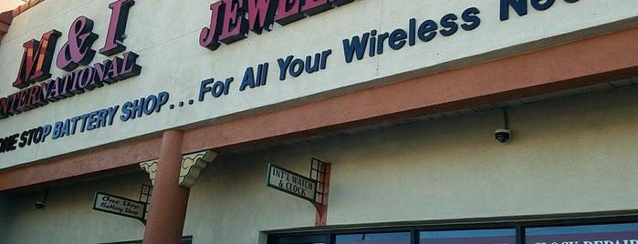 M&I International Watch & Jewelry Repair is one of Las Vegas.
