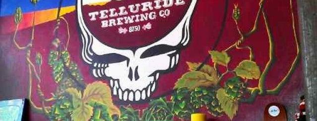 Telluride Brewing Co. is one of Kelly 님이 좋아한 장소.