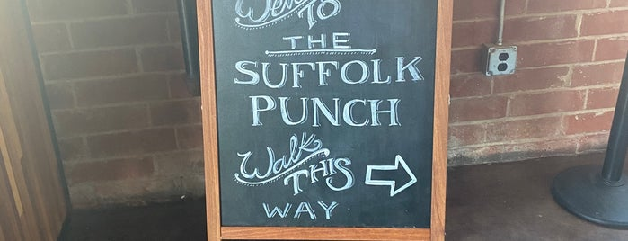 The Suffolk Punch is one of My Brewery List.