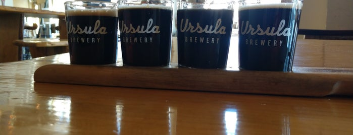 Ursula Brewery is one of Ryanさんのお気に入りスポット.