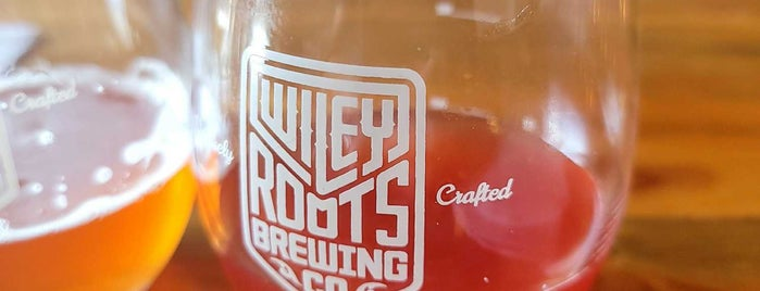 Wiley Roots Brewery is one of Tappin the Rockies...