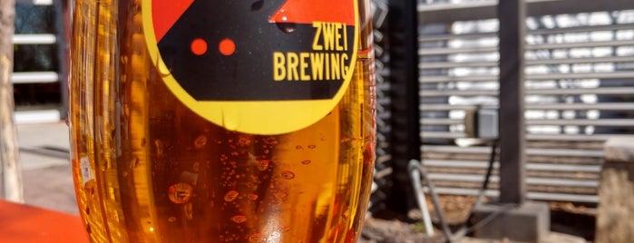 Zwei Brewing is one of สถานที่ที่บันทึกไว้ของ Dave.