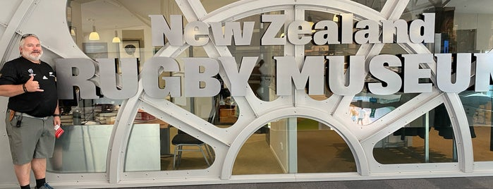 New Zealand - Rugby Museum is one of New Zealand.
